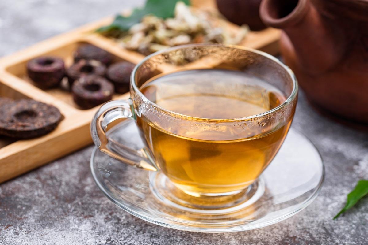 I fermentovaný čaj pu-erh obsahuje GABA