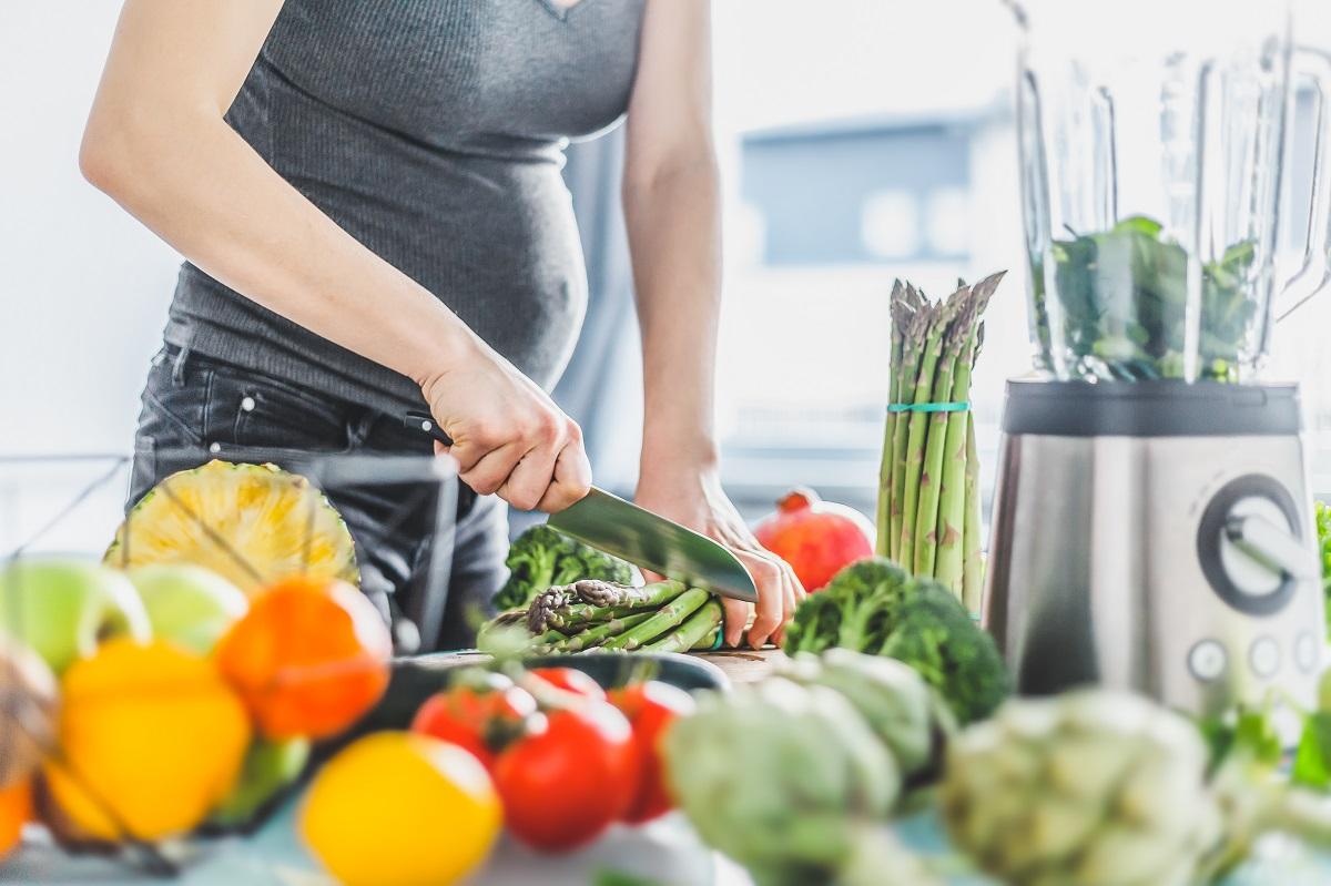 Těhotná žena by měla přemýšlet nad složením svého jídelníčku