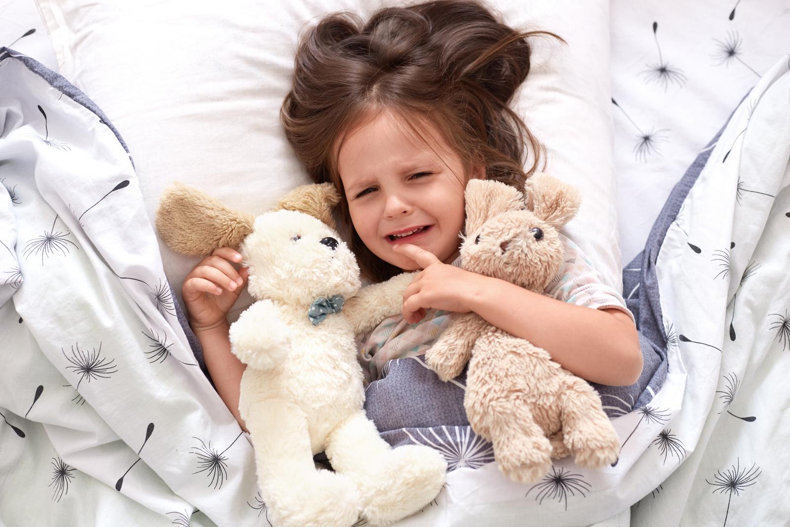 Psychosomatika močového měchýře u dětí ukazuje na strach z projevení emocí