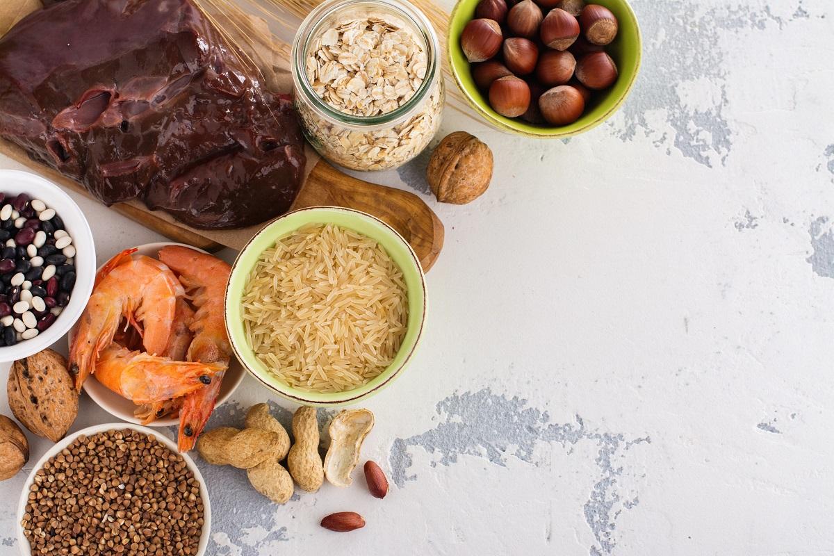 Měď je součástí mnoha běžných potravin