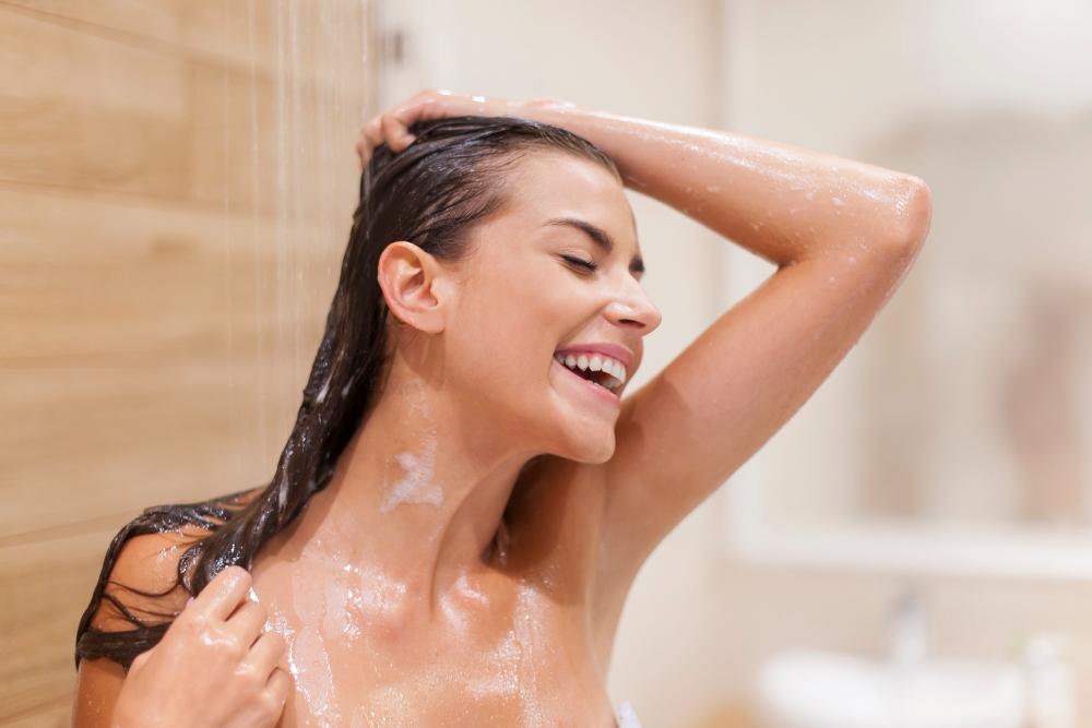 Sprchování by mělo být relaxačním zážitkem