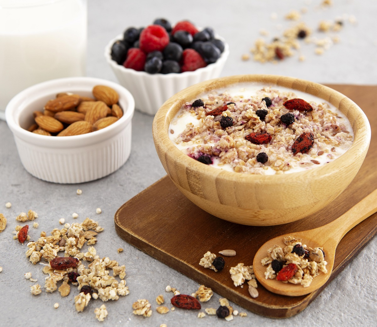 Vitamíny skupiny B jsou i ve snídaňových cereáliích