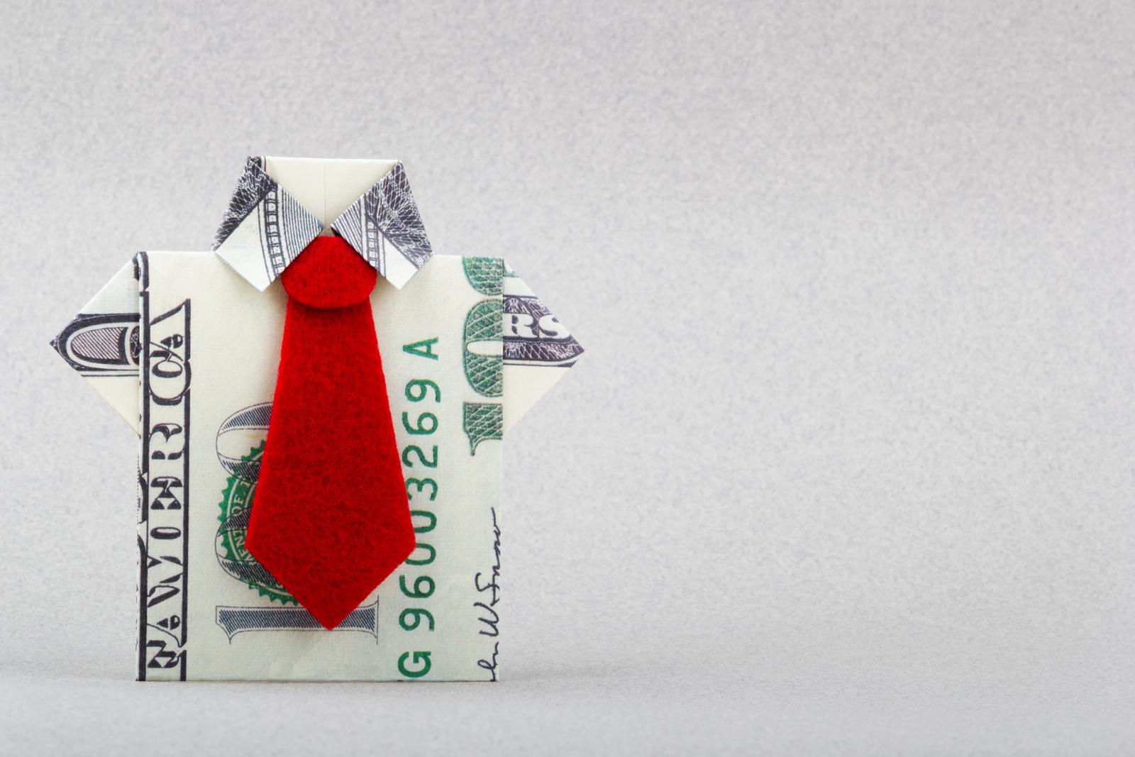 Zkuste vyrobit z peněz origami. Je to originální dárek