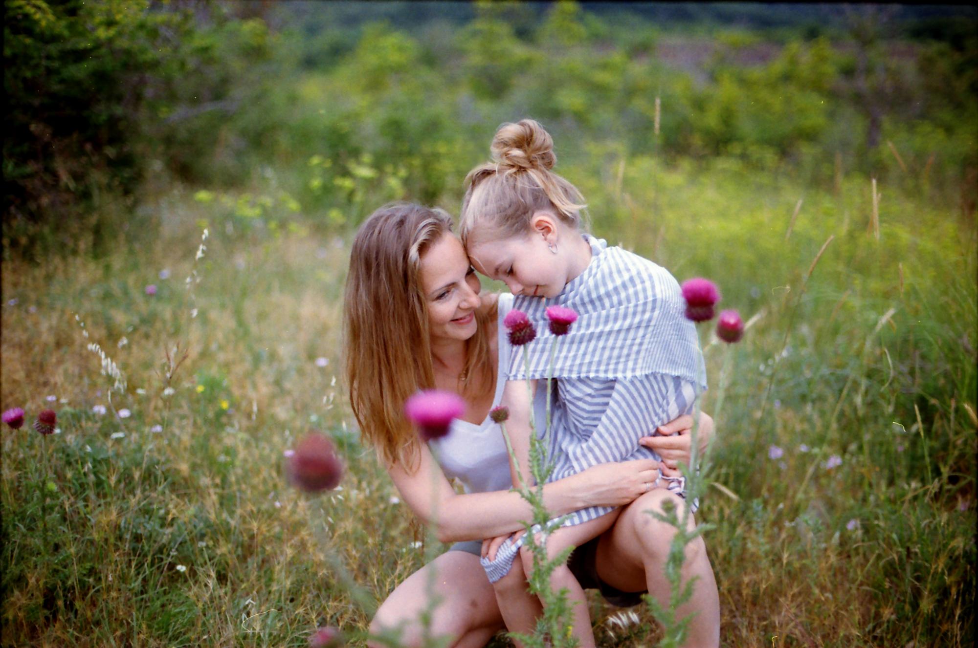 Žaneta s dcerou Miou (foto: Petra Klačková Photography)