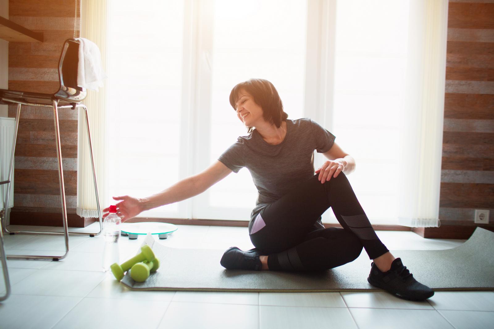 Pro řešení diastázy je zásadní cvičení