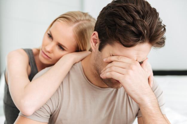 Pláč se nevyhýbá ani mužům.