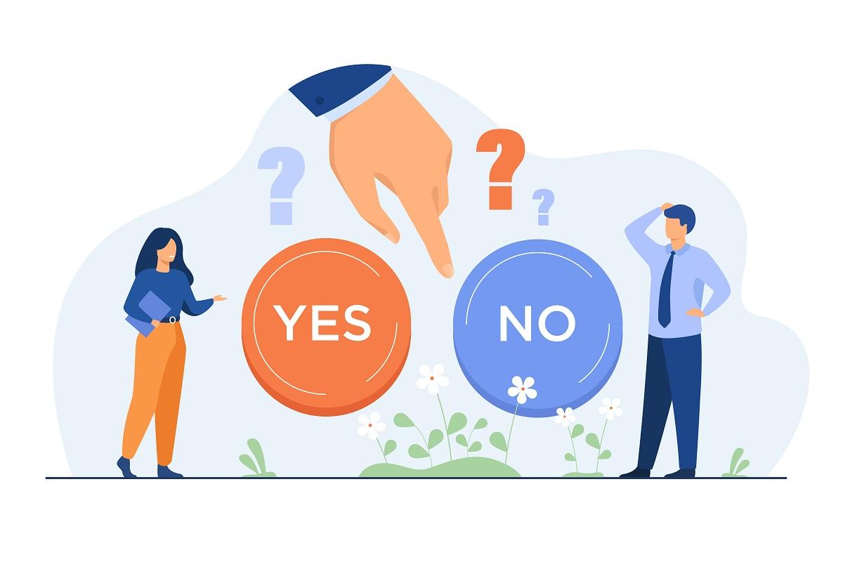Ano nebo ne? Rozhodnutí máte ve svých rukou!