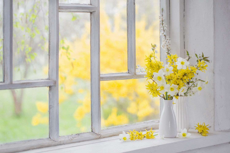 Jarní dekorace mohou být i živé květy