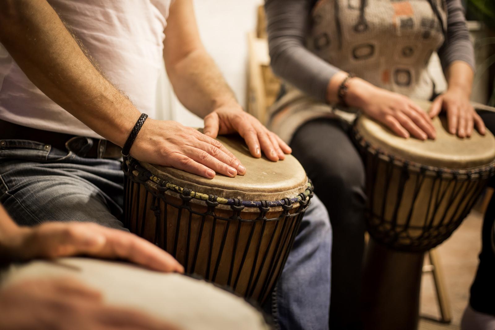 Bubny umí komunikovat s naším srdcem