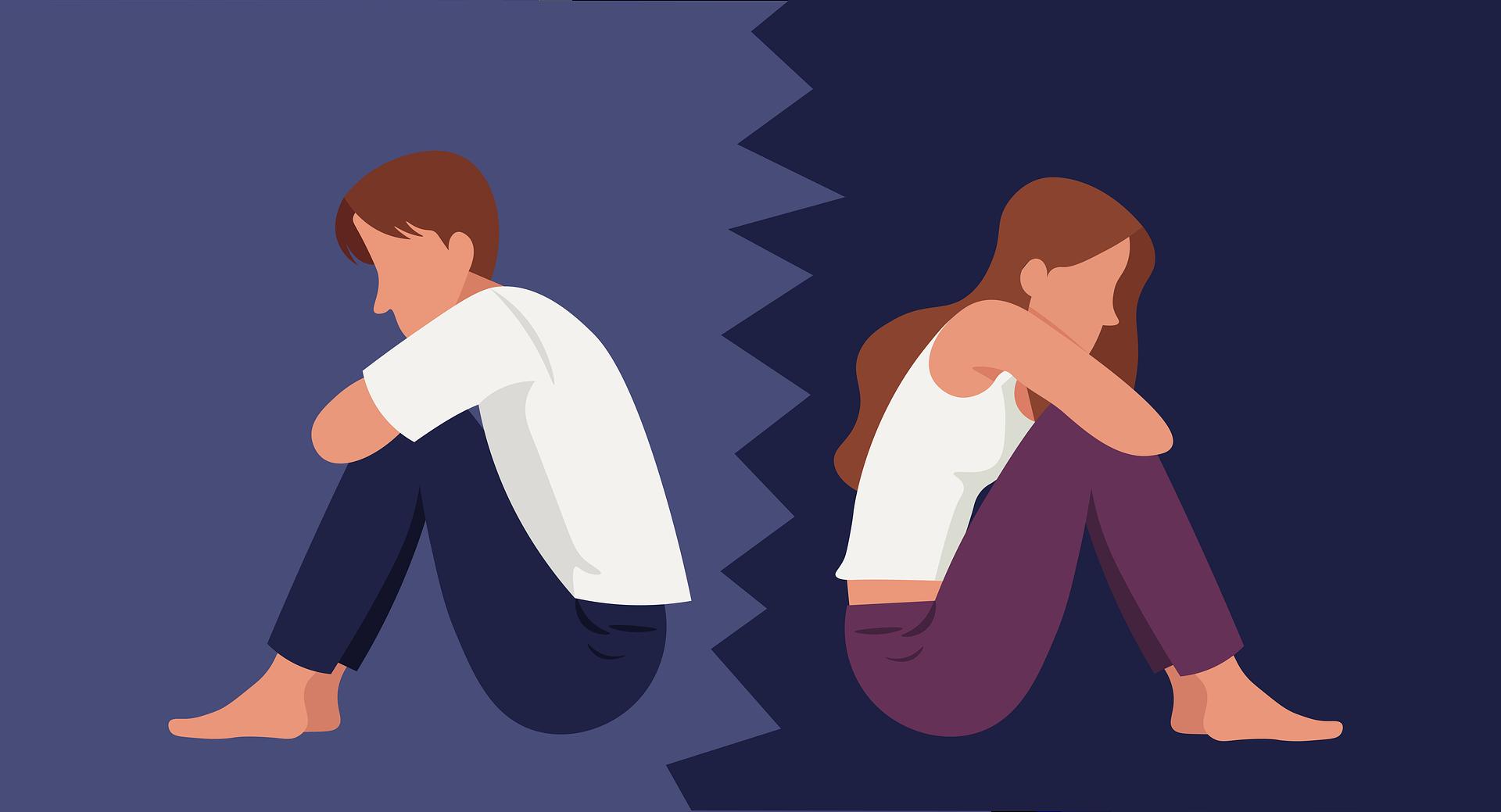 Žít v toxickém vztahu nepřináší nic dobrého. Rozchod většinou těžkosti může vyřešit.