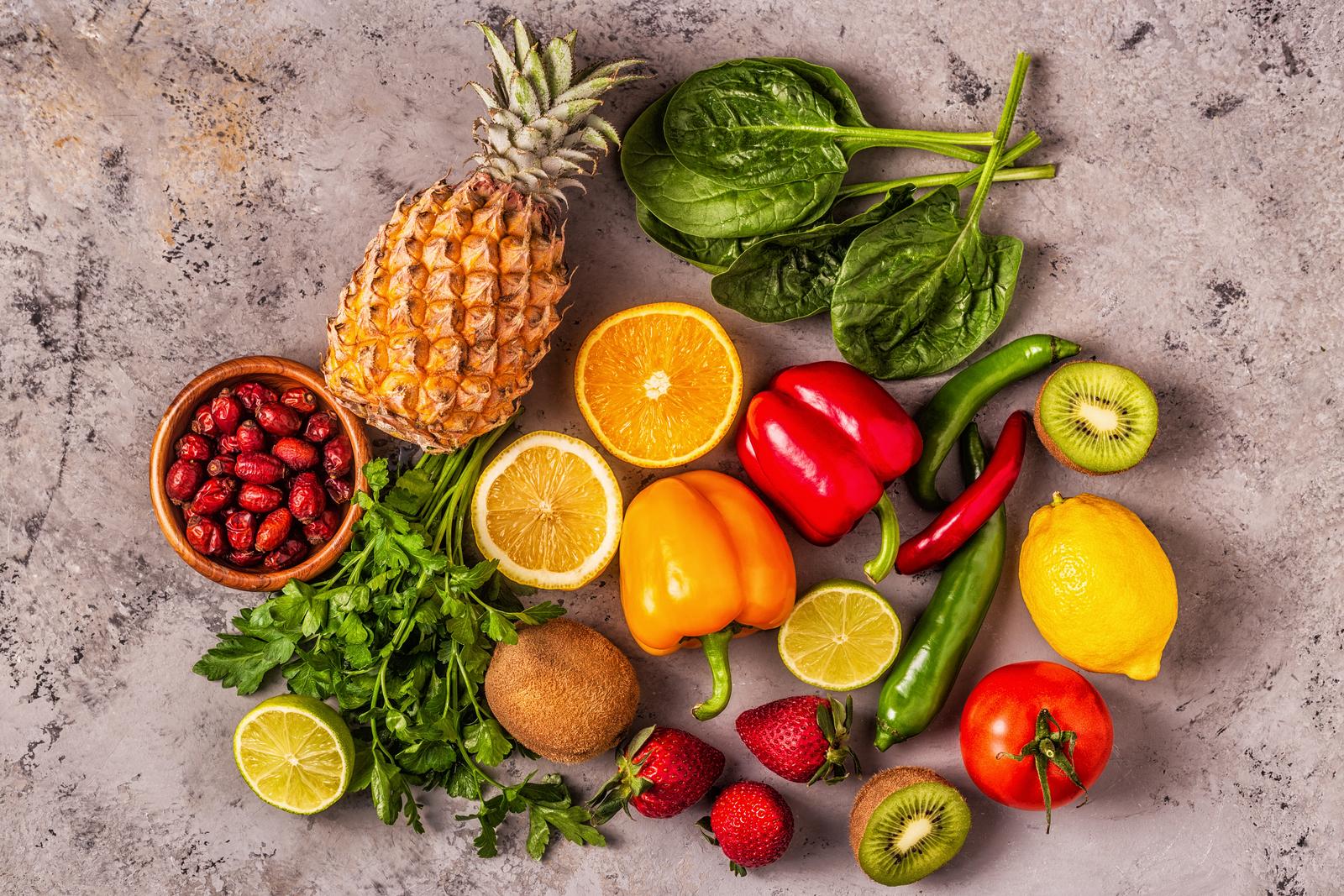 Vitamin C je důležitý pro naši imunitu i pleť