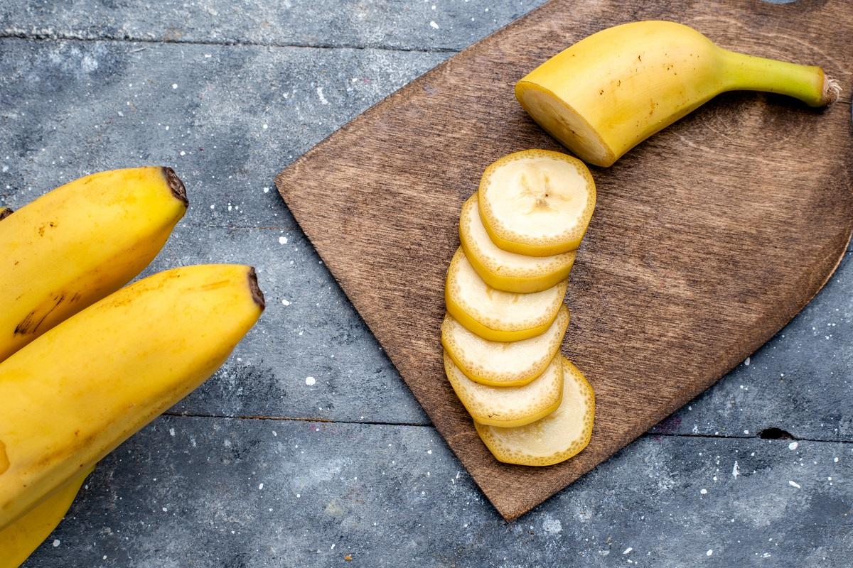 Banány jsou cenným zdrojem draslíku