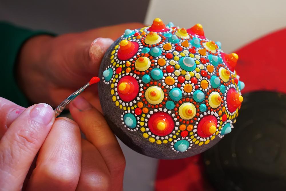 Z kamenů může vzniknout i umělecké dílo