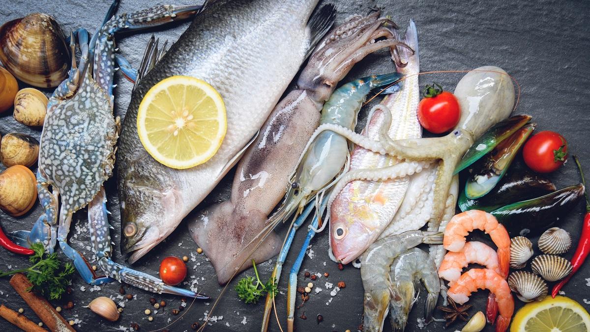 Mořské plody jsou kvalitním zdrojem lysinu